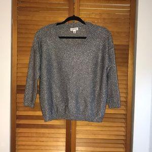 Calvin Klein shimmer sweater